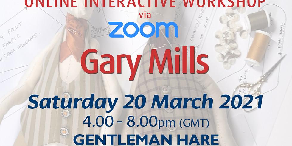 Saturday 20 March 2021: Online Workshop (Gentleman Hare Stuffed Figure)