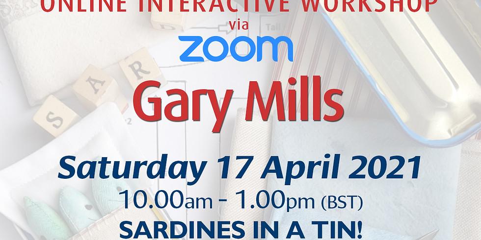 Saturday 17 April 2021: Online Workshop (Sardines In A Tin!)