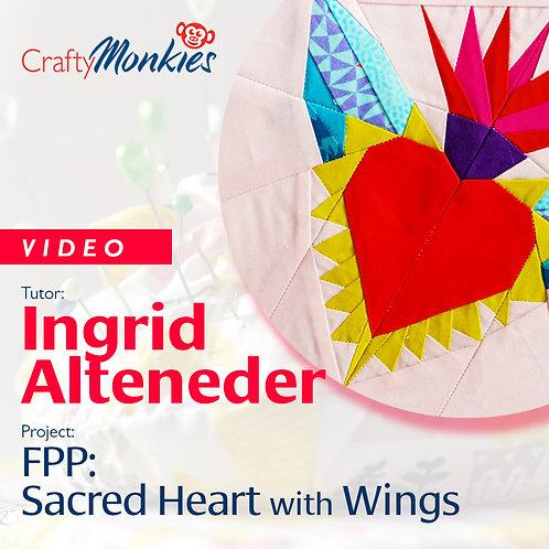 Video of Workshop: Ingrid Alteneder - FPP: Sacred Heart with Wings!