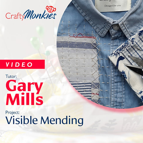 Video of Workshop: Gary Mills - Visible Mending!