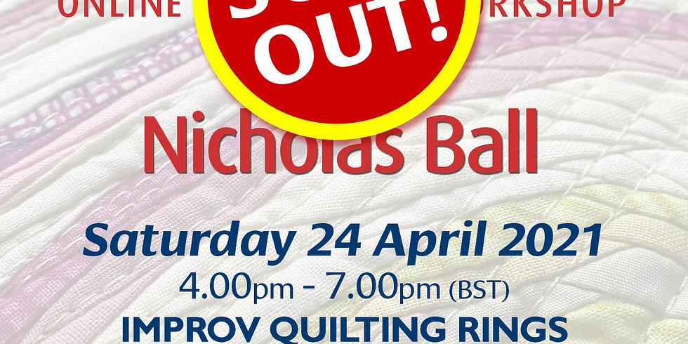 Saturday 24 April 2021: Online Workshop (Improv Rings)