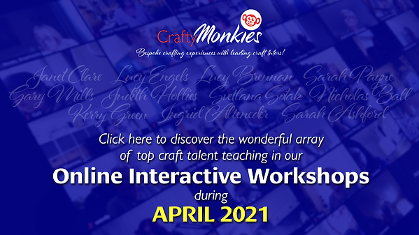 Check out our FABULOUS array of Online Interactive Workshops!