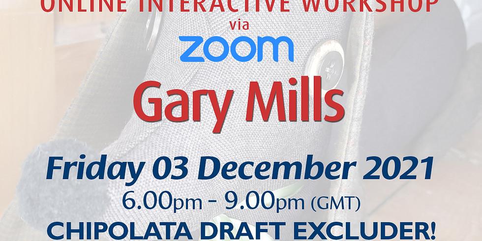 Friday 03 December 2021: Online Workshop (Chipolata Draft Excluder!))