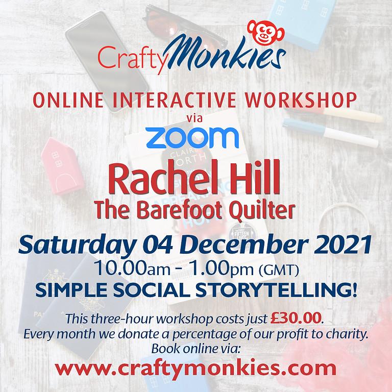 Saturday 04 December 2021: Online Workshop (Simple Social Storytelling)