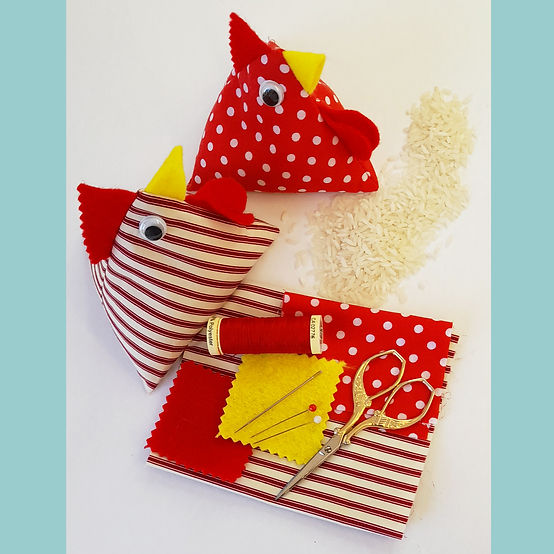 Make either a Pattern Weight or Pin-Cushion in this FREE one-hour workshop with Gary Mills!