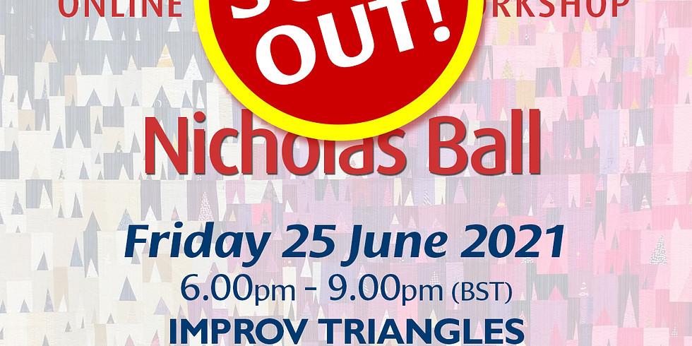 Friday 25 June 2021: Online Workshop (Improv Triangles)