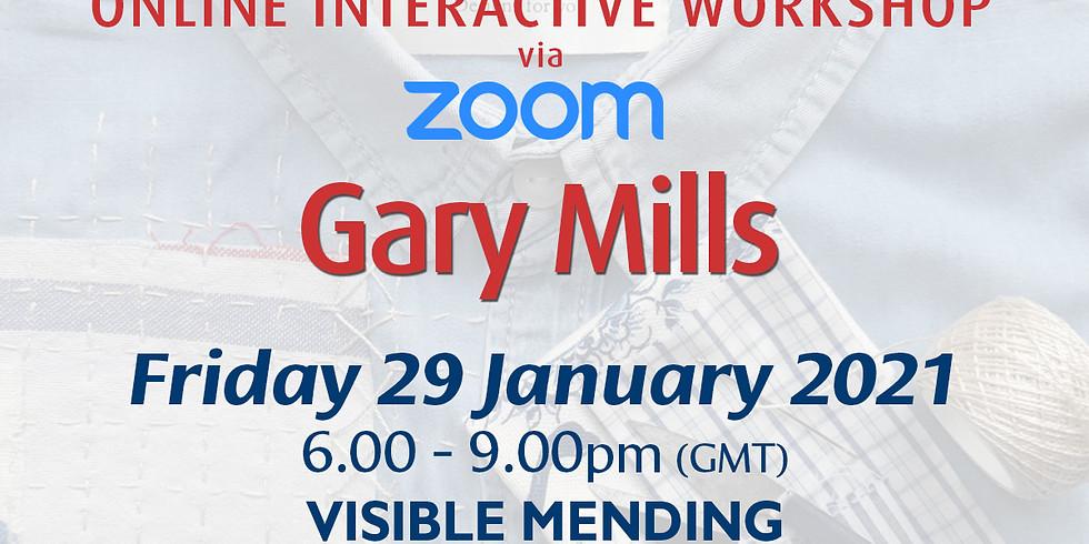 Friday 29 January 2021: Online Workshop (Visible Mending)