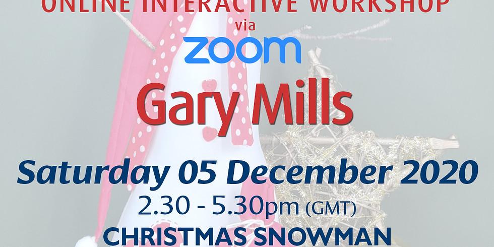 Saturday 05 December 2020: Online Workshop (Christmas Snowman)