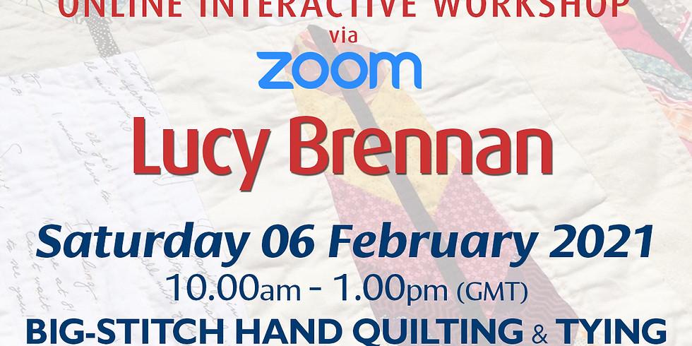 Saturday 06 February 2021: Online Workshop (Big-Stitch Hand Quilting & Tying)