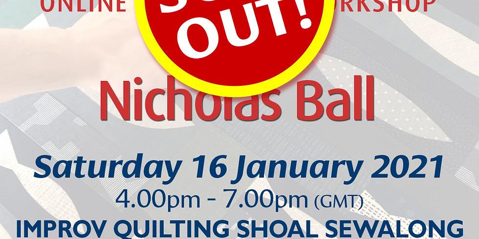 Saturday 16 January 2021: Online Workshop (Shoal Sewalong)