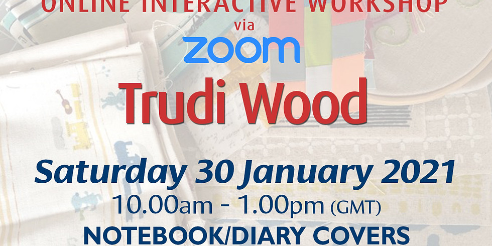 Saturday 30 January 2021: Online Workshop (Notebook Covers)
