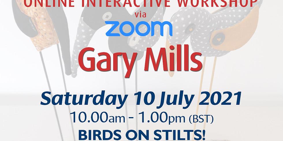 Saturday 10 July 2021: Online Workshop (Birds On Stilts!)