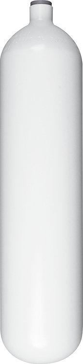 Stahlflasche ohne Ventil