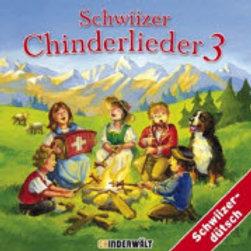 Schwiizer Chinderlieder 3 / CD