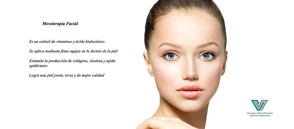Mesoterapia, estética, facial, clinica beauvisage, ácido hialurónico, coktail, vitaminas, dermis, piel, joven, colágeno, las condes, santiago