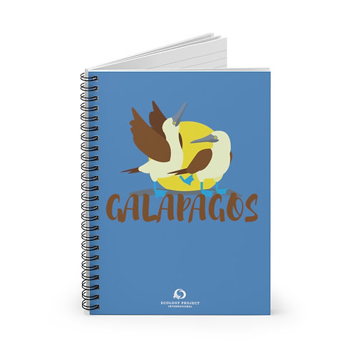 Galapagos Spiral Notebook - Ruled Line