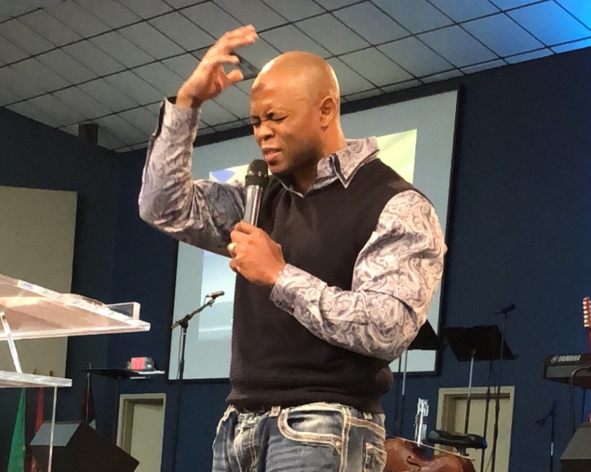 Ray Preaching