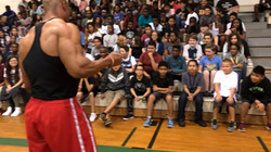 Ray Speaking at a High School