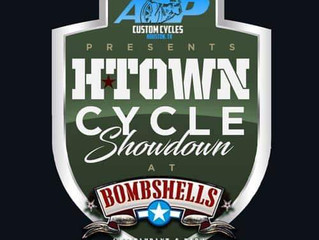 Htown Cycles Showdown March 31st 2pm to 2am. Come out and show them big boy toys off!
