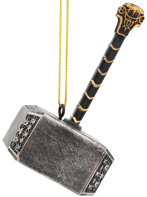 Mjölnir Thor's Hammer Christmas Ornament Decoration