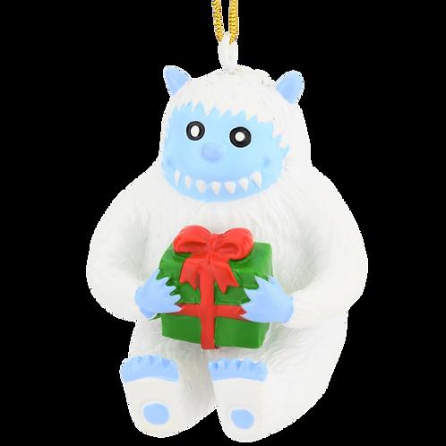 Cute Abominable Snowman Yeti Christmas Ornament