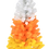 Thumbnail: White, Orange and Yellow Candy Corn Halloween Tree (4 Foot)