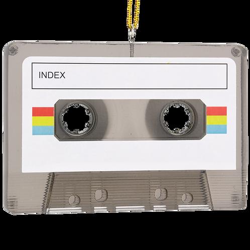 Cassette Tape Customizable Christmas Ornament
