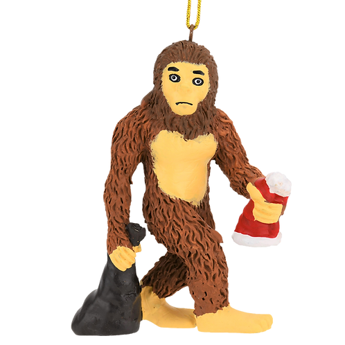 Bigfoot/Yeti Sasquatch Christmas Ornament
