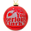 Thumbnail: You serious Clark? Red Glass Christmas Ornament