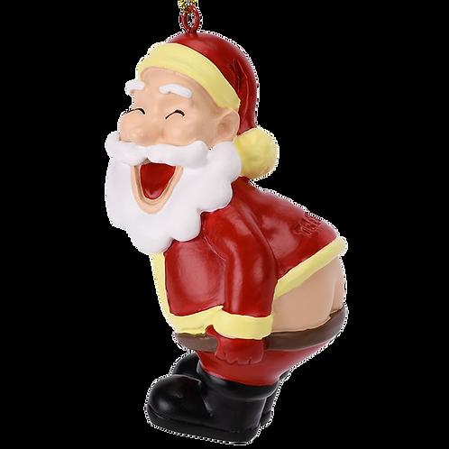 Mooning Santa Claus™ Christmas Ornament