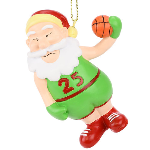 Air Santa™ Basketball Christmas Ornament