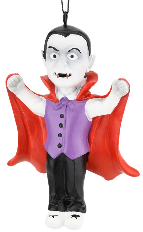Dracula Vampire Halloween Ornament