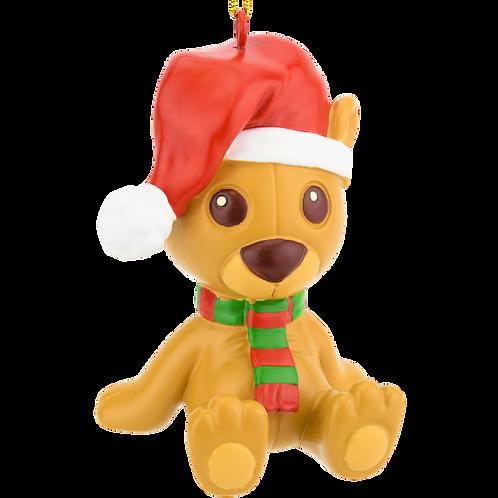 Cute Stuffed Animal Christmas Teddy Bear Ornament