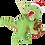 Thumbnail: Xmas Rex™ Christmas T-Rex Dinosaur Ornament