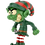 Thumbnail: Evil Elf with Bloody Knife Halloween / Christmas Ornament