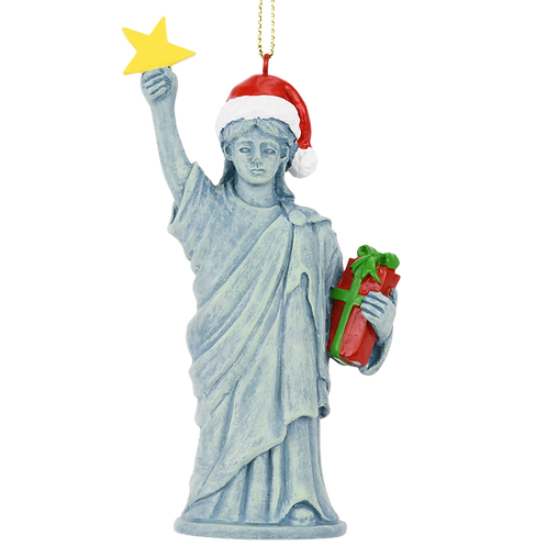Xmas Liberty™ Christmas Statue of Liberty Figurine Ornament