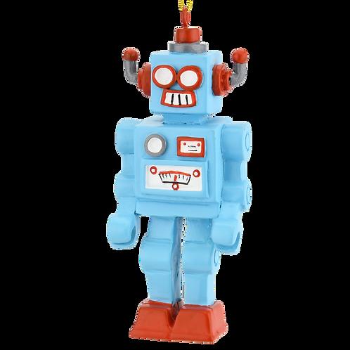 Retro Toy Robot Unique Christmas Ornament