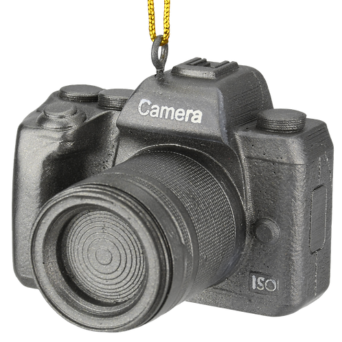 DSLR Camera Christmas Ornament
