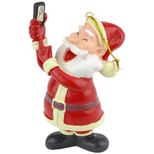 Selfie Santa™ Christmas Ornament
