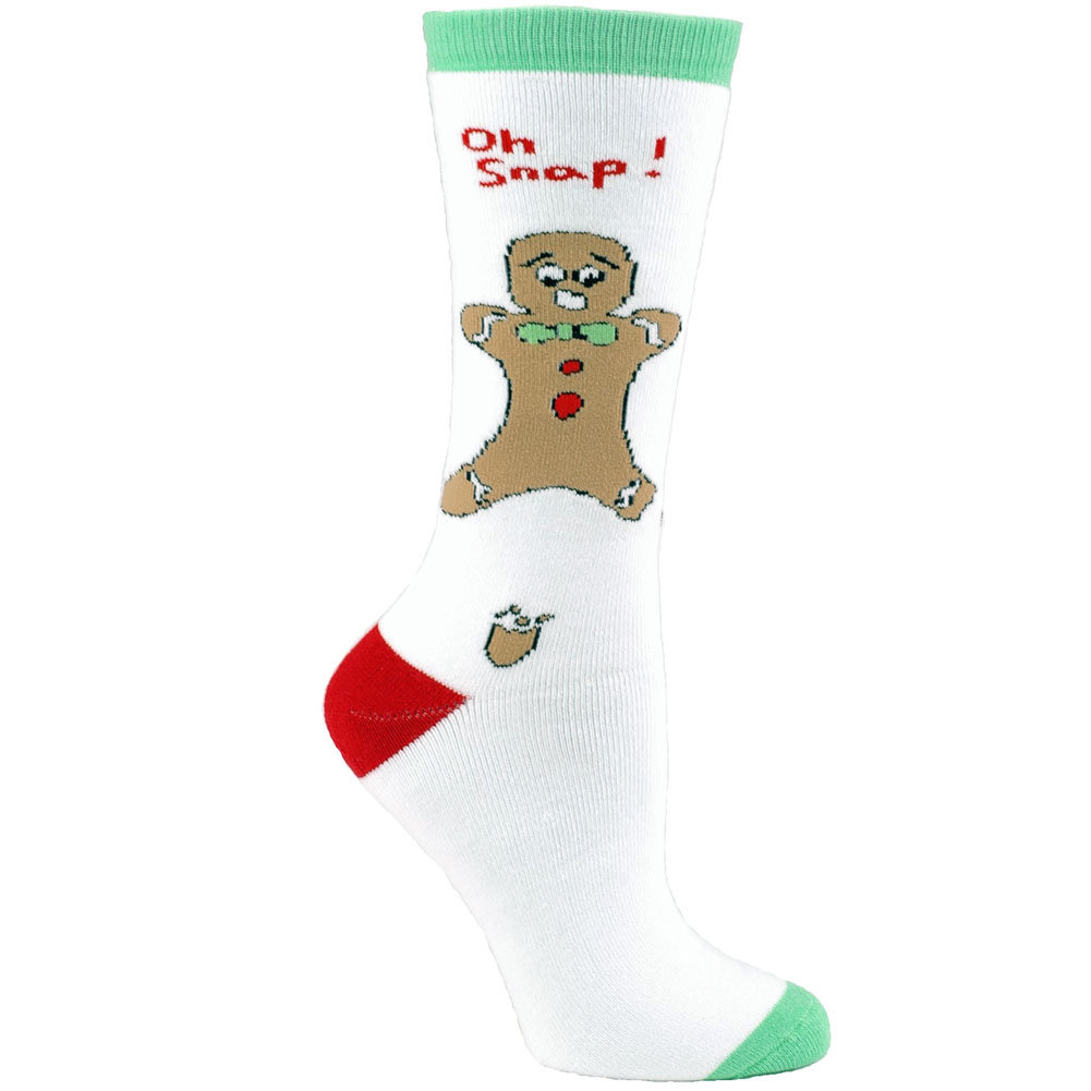 Unisex Adult - Oh Snap! Funny Gingerbread Man Christmas ...