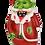 Thumbnail: Zombie Santa Claus Christmas Ornament