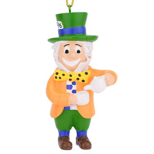 Mad Hatter from Alice in Wonderland Christmas Ornament