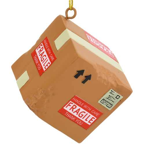 Damaged Delivery Package Christmas Ornaments
