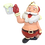 Thumbnail: Celebration Santa™ - Beer Time Santa Claus Christmas Ornament