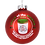 Thumbnail: Jelly of The Month Club Red Glass Christmas Ornament