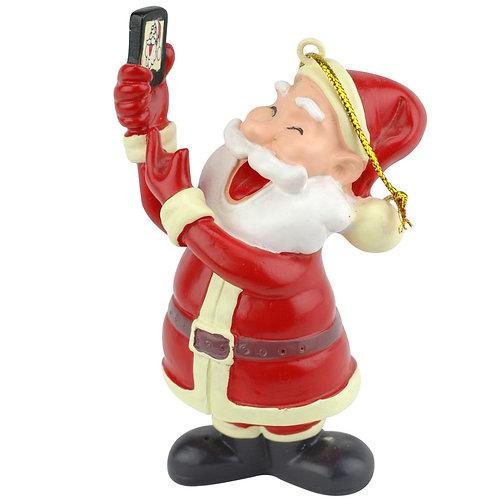 Selfie Santa™ Christmas Ornament