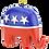 Thumbnail: USA Presidential / Political Christmas Ornament (Republican Party)