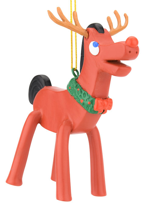 Rudolph Pokey Christmas Ornament Limited Edition