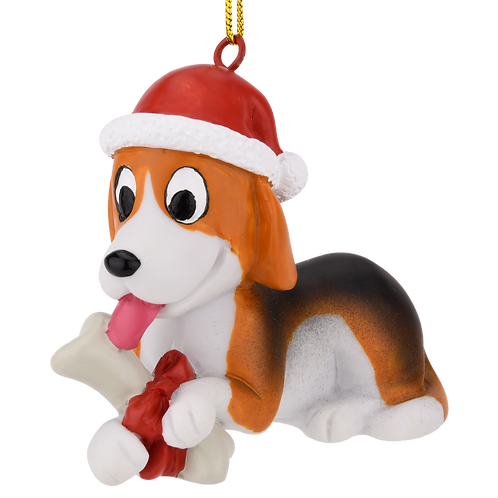 Puppy's First Christmas Christmas Ornament - Beagle
