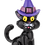 Thumbnail: Black Cat Halloween Ornament